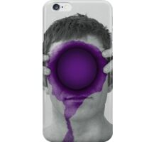 Purple Hole iPhone Case/Skin