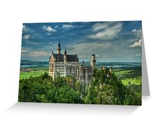 Neuschwanstein castle Greeting Card