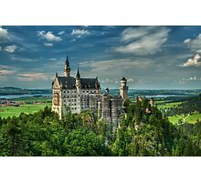 Neuschwanstein castle Photographic Print