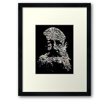 kropotkin is not a planet Framed Print