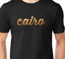 Cairo Gold Graphic Unisex T-Shirt