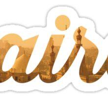 Cairo Gold Graphic Sticker