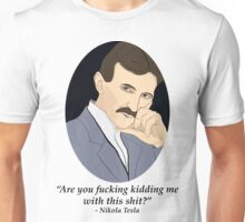 Tesla's NSFW Feelings Unisex T-Shirt