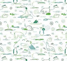 Animal Pattern Series – Arctic Creatures by onocreates