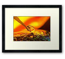 Liquid Soul Affair Framed Print