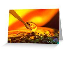 Liquid Soul Affair Greeting Card