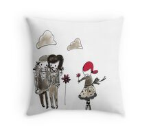 Welcome to the schoolyard Throw Pillow
