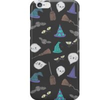 CUTE HALLOWEEN PARTY(BLACK) iPhone Case/Skin