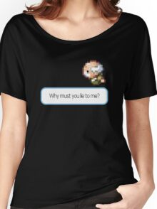 Game Grumps | Why Must You Lie to Me? Women's Relaxed Fit T-Shirt