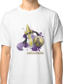 Aegislash Blade Forme With Name Classic T-Shirt