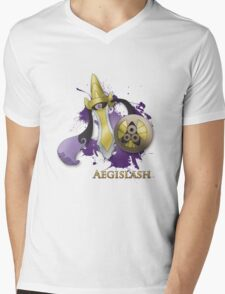 Aegislash Blade Forme With Name Mens V-Neck T-Shirt