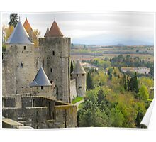 Colors of Carcassonne Poster