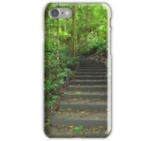 Nature's walk - step by step iPhone Case/Skin