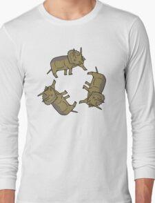 Triceratop Triskelion  T-Shirt