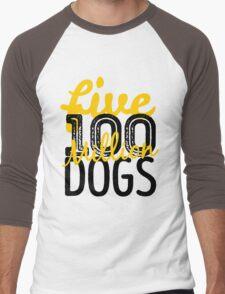 Five hundred million dogs Men's Baseball ¾ T-Shirt