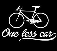 One Less Car by fashionera