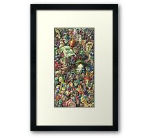 Faces Framed Print