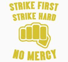 Cobra Kai Strike First Strike Hard Kids Tee