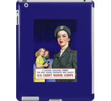 US Cadet Nurse Corps - WW2 iPad Case/Skin