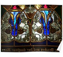 Stained Glass Screen Poster