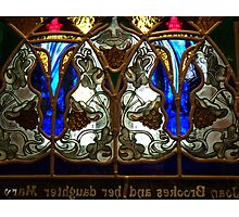 Stained Glass Screen Photographic Print