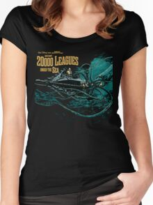 20000 leagues under sea JV & WD Women's Fitted Scoop T-Shirt