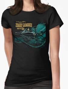 20000 leagues under sea JV & WD Womens Fitted T-Shirt
