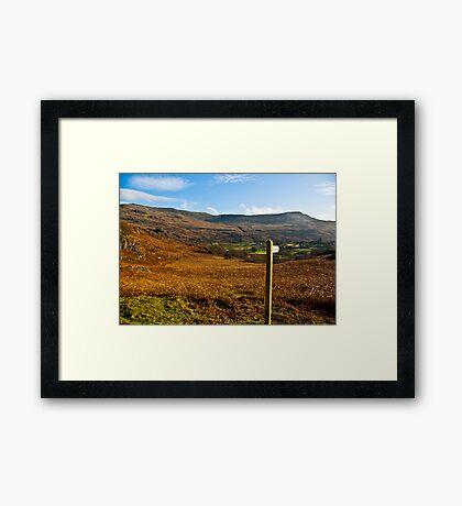 Duddon Valley - Lake District Framed Print