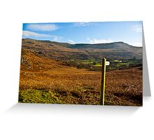 Duddon Valley - Lake District Greeting Card