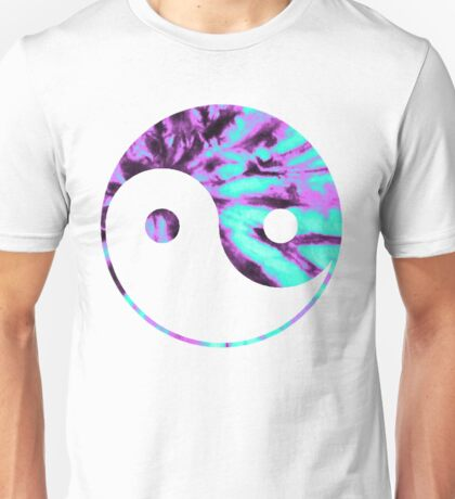 Tie Dye Yin Yang Unisex T-Shirt