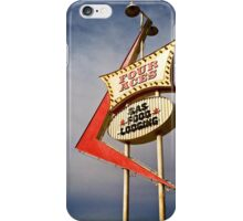 Four Aces motel iPhone Case/Skin