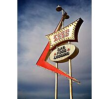 Four Aces motel Photographic Print