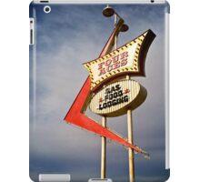 Four Aces motel iPad Case/Skin
