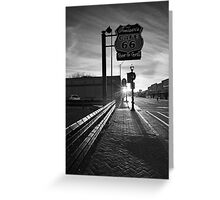 Cafe 66 Greeting Card