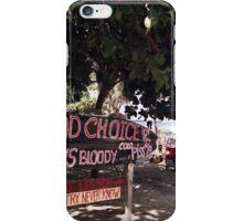 Good Choice Bar, Seminyak Beach Bali iPhone Case/Skin