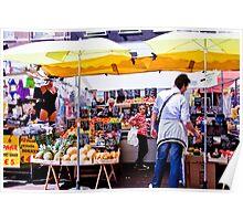 Outdoor Market Poster