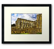 Rievaulx Abbey - North Yorkshire. Framed Print