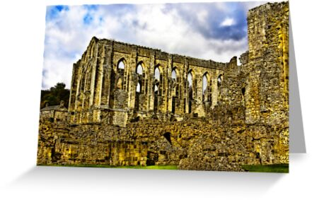 Rievaulx Abbey - North Yorkshire. by Trevor Kersley