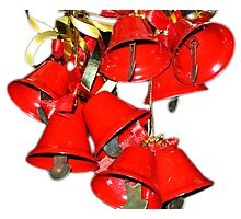 Christmas Bells Photographic Print