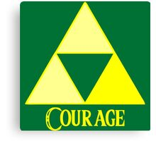 Triforce of Courage Canvas Print