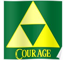 Triforce of Courage Poster