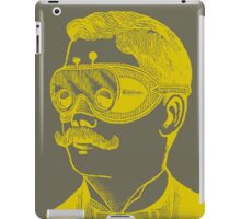 Vintage man in goggles iPad Case/Skin