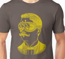 Vintage man in goggles Unisex T-Shirt