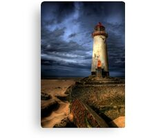 The Abandoned Lighthouse Canvas Print