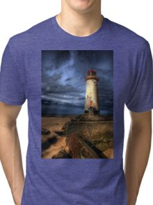 The Abandoned Lighthouse Tri-blend T-Shirt