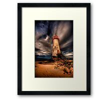 Abandoned Lighthouse Framed Print