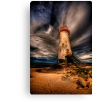 Abandoned Lighthouse Canvas Print