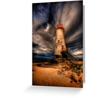 Abandoned Lighthouse Greeting Card