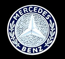 Classic Car Logos: Mercedes-Benz by brookestead