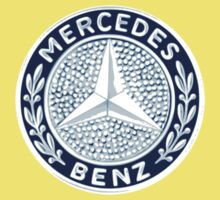 Classic Car Logos: Mercedes-Benz Kids Tee